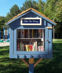 Image of a sample Little Library